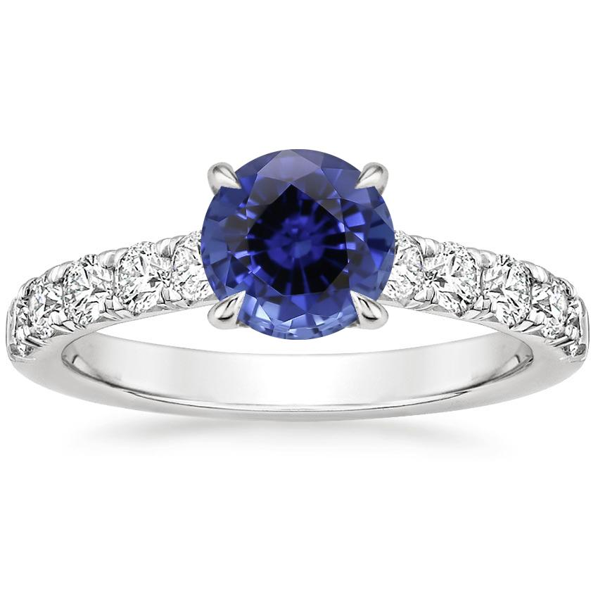 Sapphire Luxe Anthology Diamond Ring (1/2 ct. tw.) in 18K White Gold