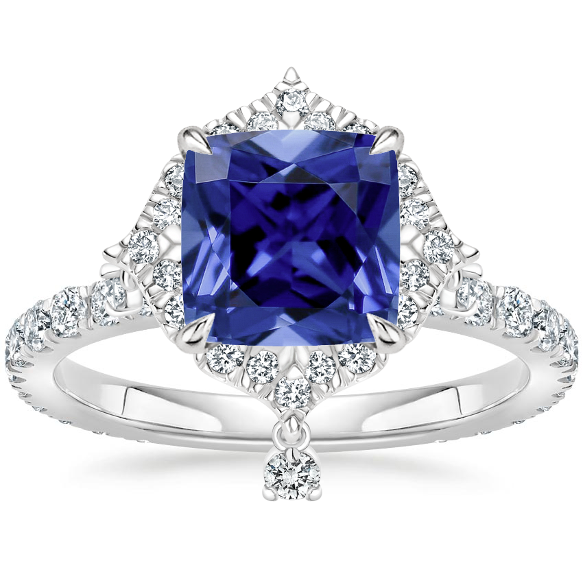 Sapphire Summer Rain Diamond Ring (3/4 ct. tw.) in 18K White Gold