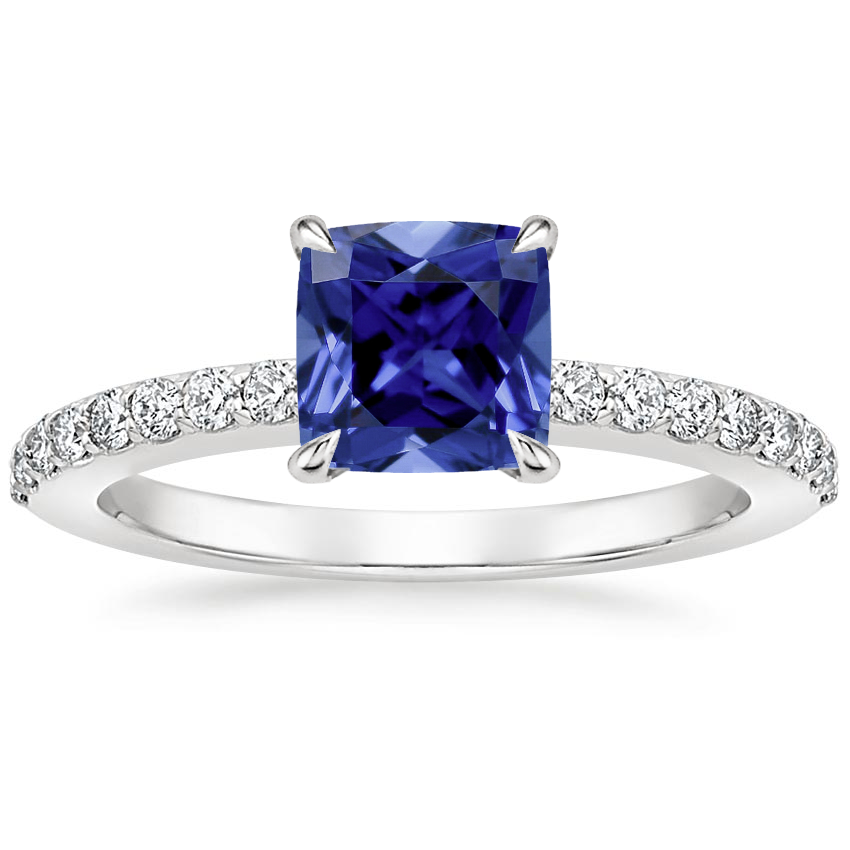Sapphire Luxe Elodie Diamond Ring (1/4 ct. tw.) in Platinum