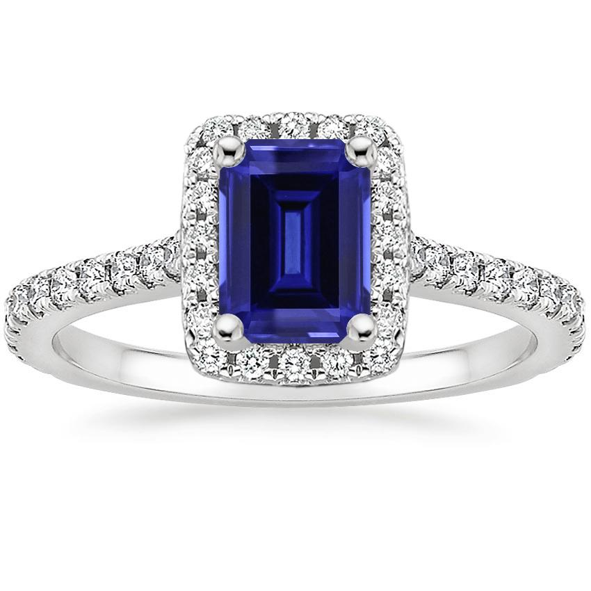Sapphire Luxe Odessa Diamond Ring (1/3 ct. tw.) in Platinum
