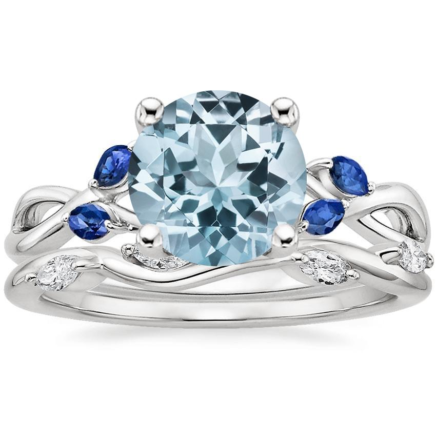 kastan st ring aquamarine compass and arik sapphire greenwich
