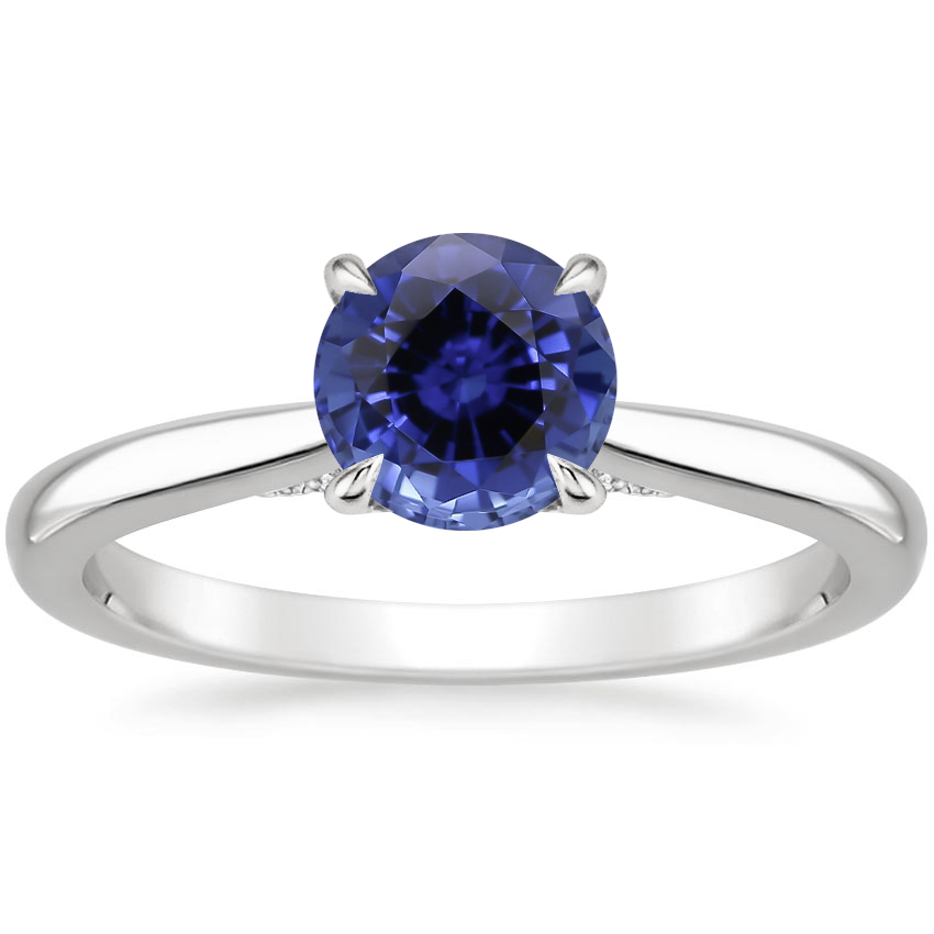 Sapphire Dawn Diamond Ring in Platinum