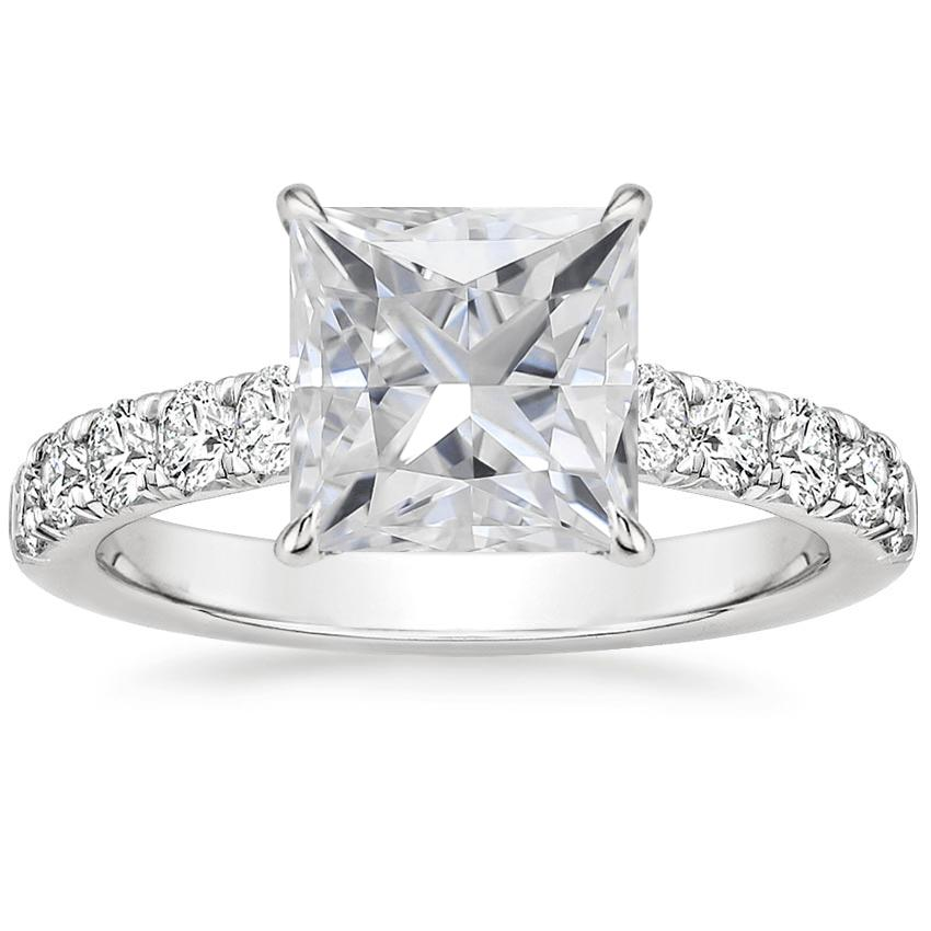 Moissanite Luxe Anthology Diamond Ring (1/2 ct. tw.) in Platinum