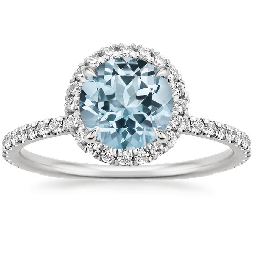 Aquamarine Engagement Rings Brilliant Earth