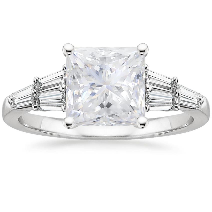 Moissanite Harlow Diamond Ring (1/2 ct. tw.) in Platinum