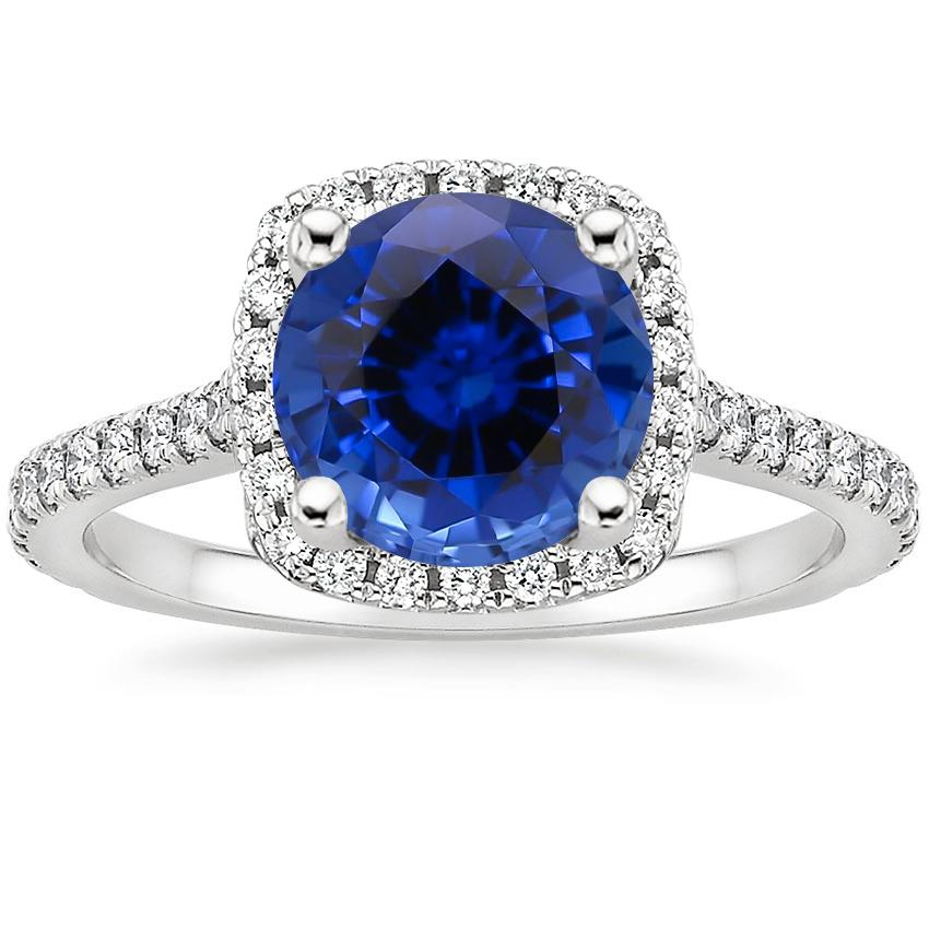 Sapphire Luxe Odessa Diamond Ring (1/3 ct. tw.) in 18K White Gold