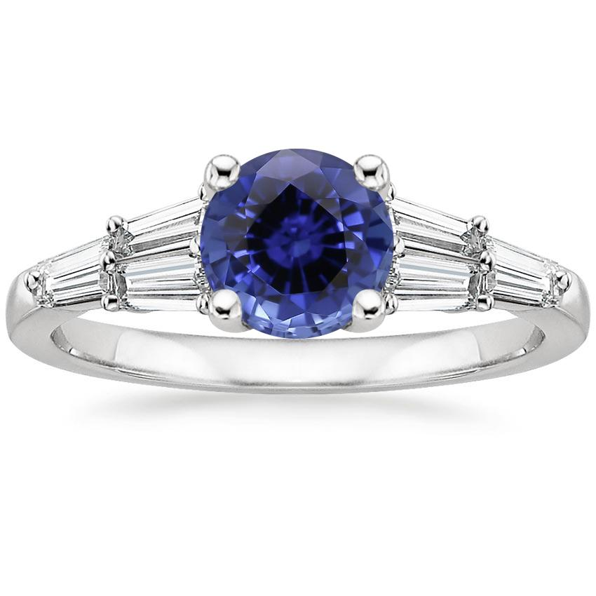 Sapphire Harlow Diamond Ring (1/2 ct. tw.) in Platinum