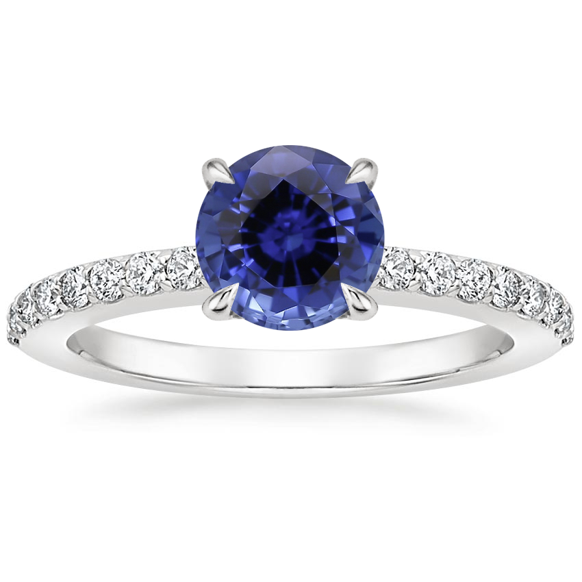 Sapphire Luxe Elodie Diamond Ring (1/4 ct. tw.) in 18K White Gold