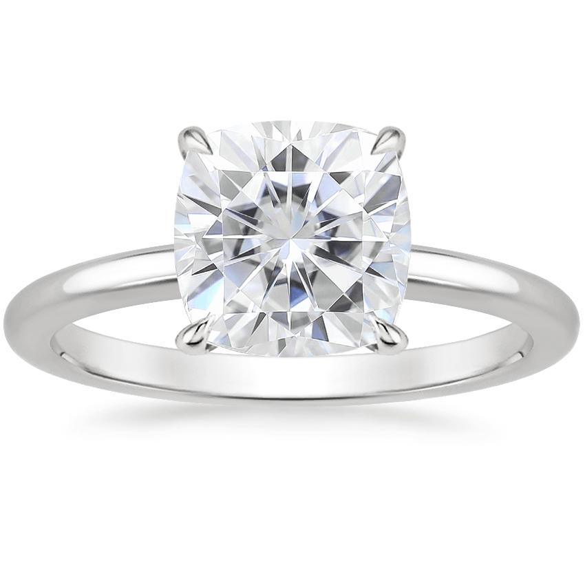 Moissanite Elodie Ring in Platinum