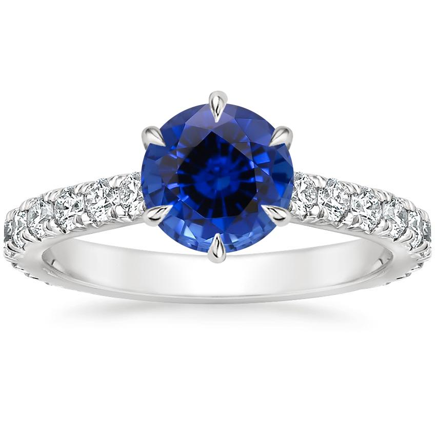Sapphire Luxe Sienna Diamond Ring (1/2 ct. tw.) in Platinum