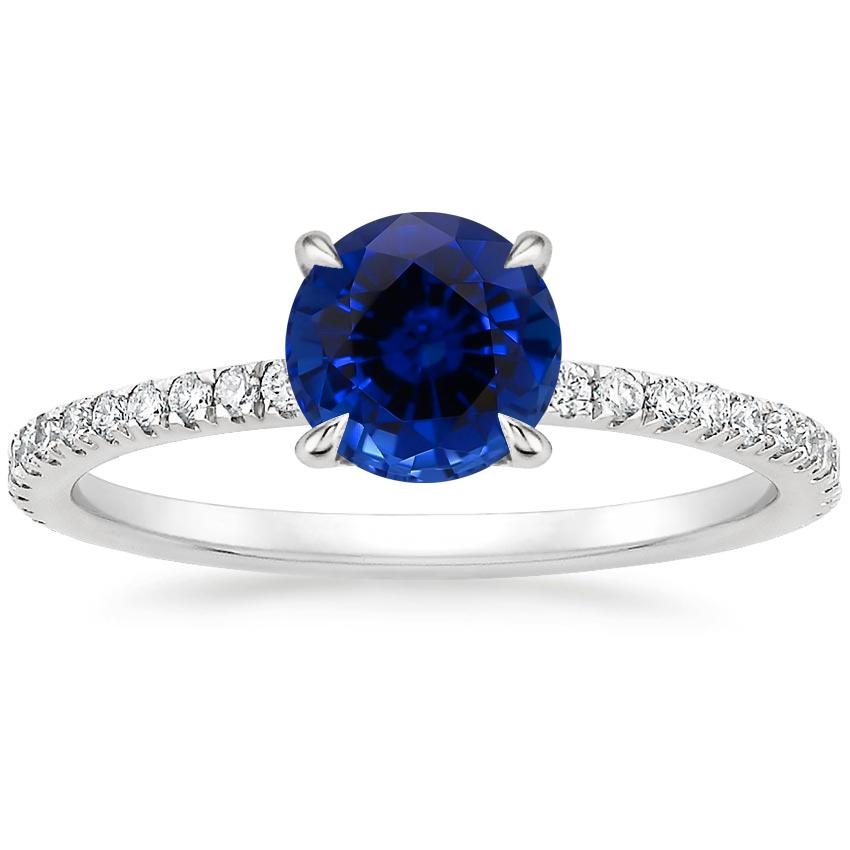 Sapphire Viviana Diamond Ring (1/3 ct. tw.) in 18K White Gold