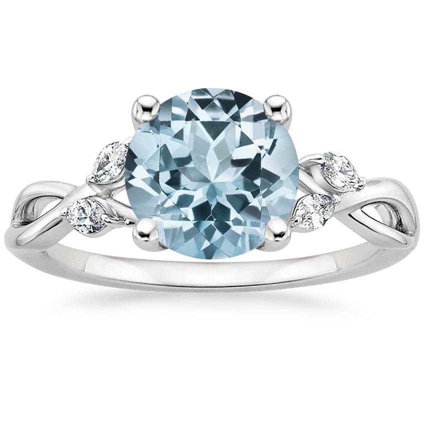 spinel diamond sassalina gemstone ring solitaire blue and rings