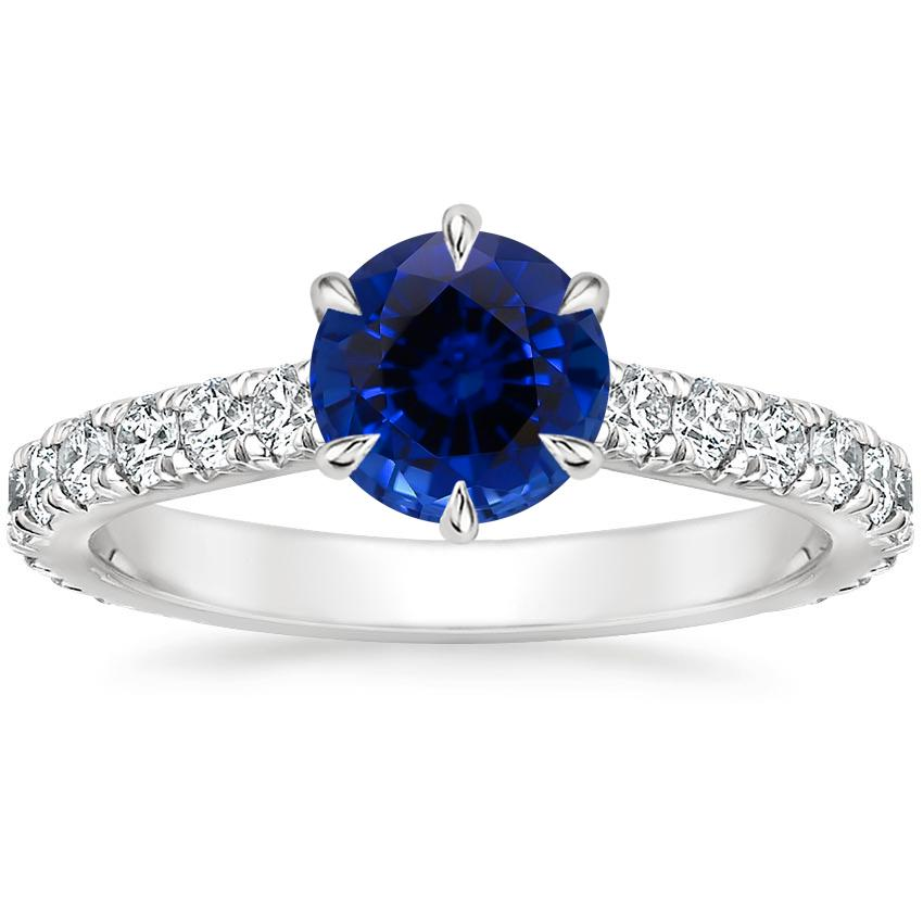 Sapphire Luxe Sienna Diamond Ring (1/2 ct. tw.) in 18K White Gold