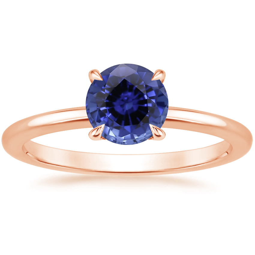 Rose Gold Sapphire Petite Elodie Ring