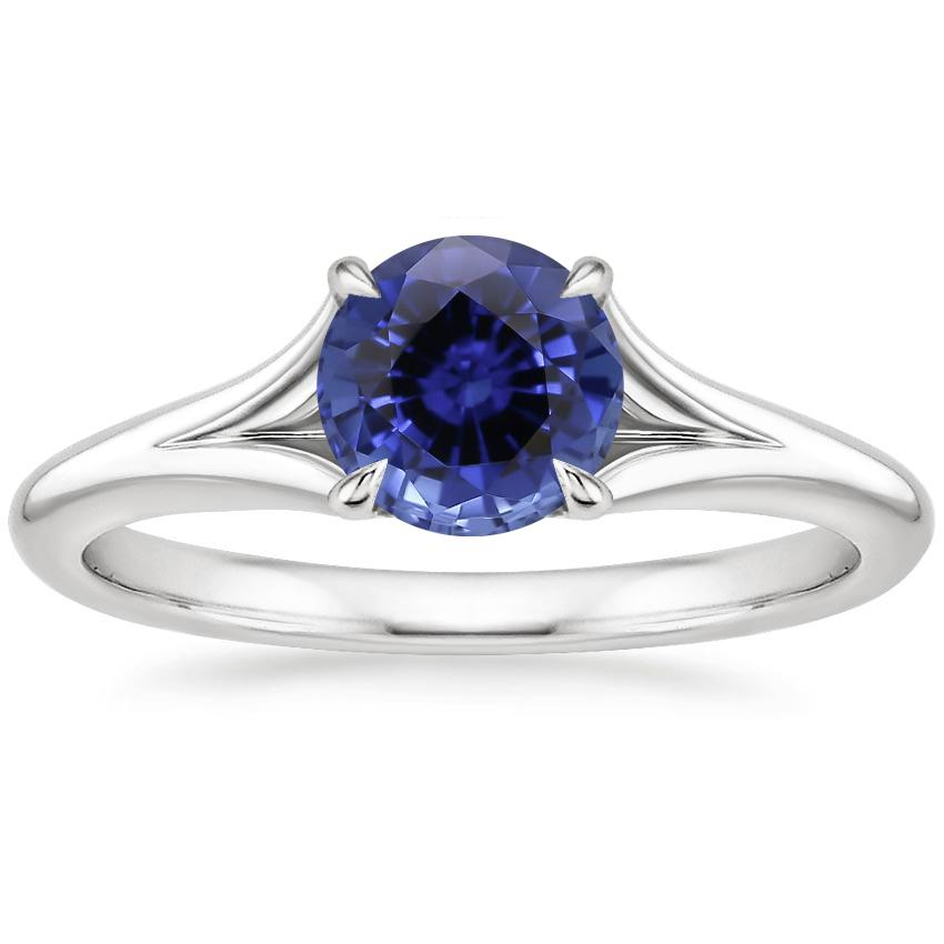 Sapphire Reverie Ring in 18K White Gold