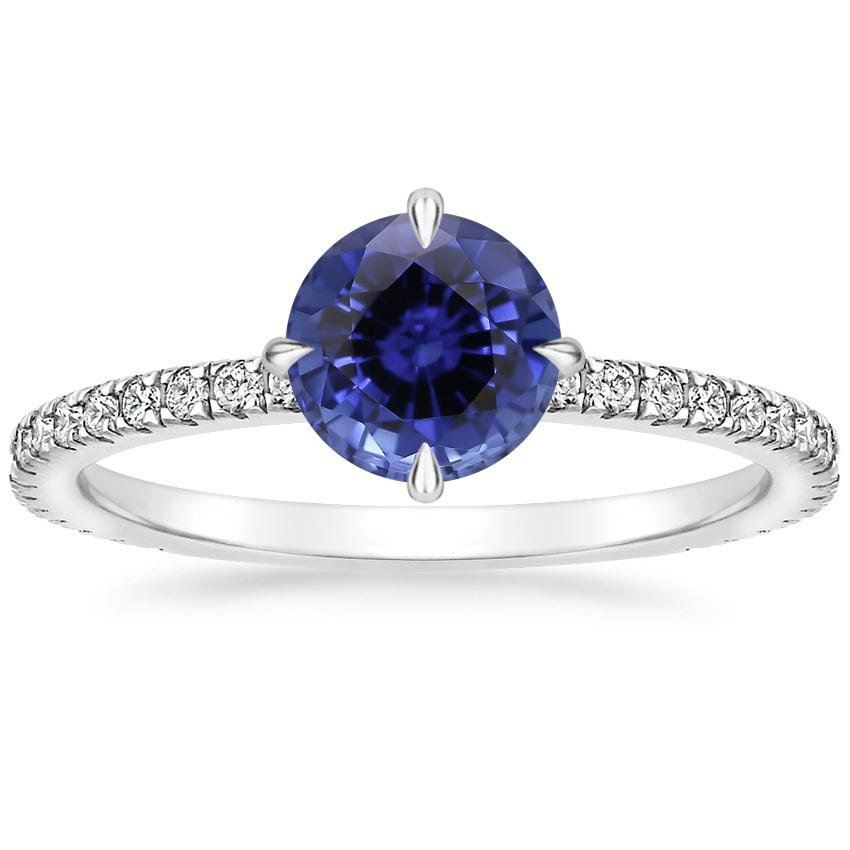 Sapphire Polaris Diamond Ring (1/4 ct. tw.) in 18K White Gold