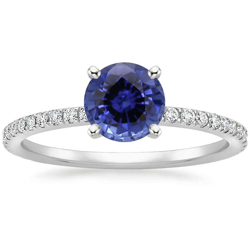 Sapphire Luxe Ballad Diamond Ring (1/4 ct. tw.) in 18K White Gold