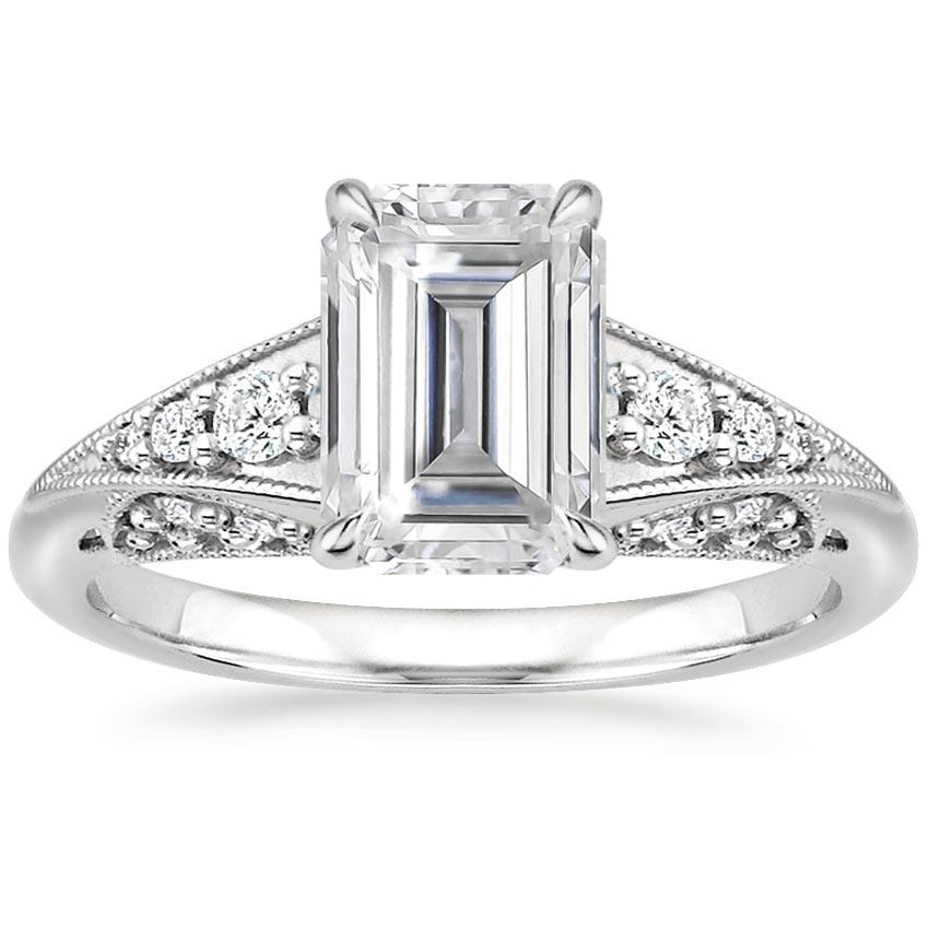 Moissanite Serafina Diamond Ring (1/4 ct. tw.) in Platinum