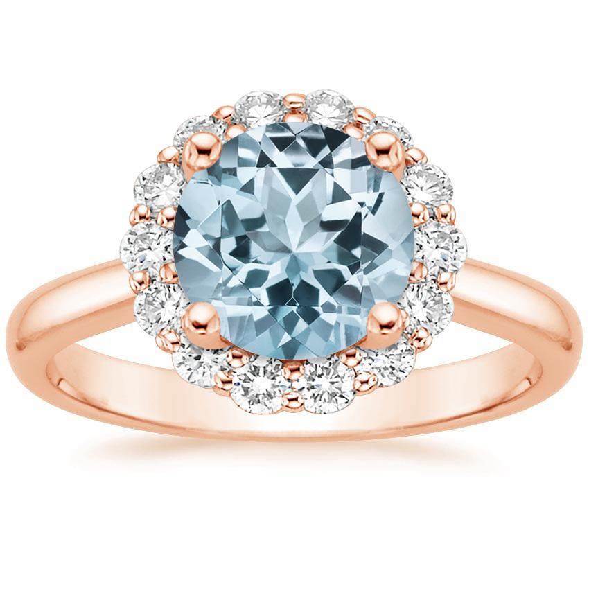 Aquamarine Engagement Rings