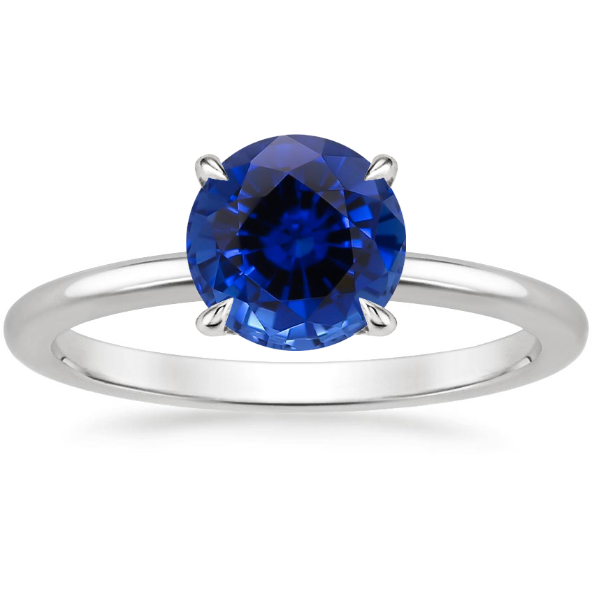 Sapphire Everly Diamond Ring in Platinum