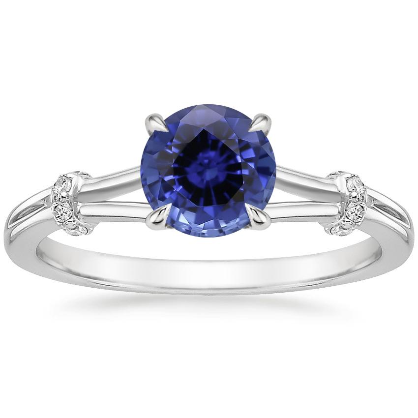 Sapphire Odelia Diamond Ring in Platinum