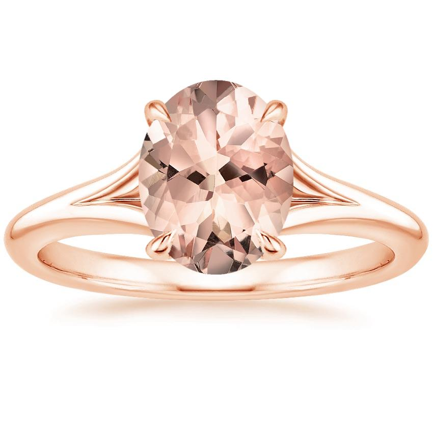 Rose Gold Morganite Reverie Ring