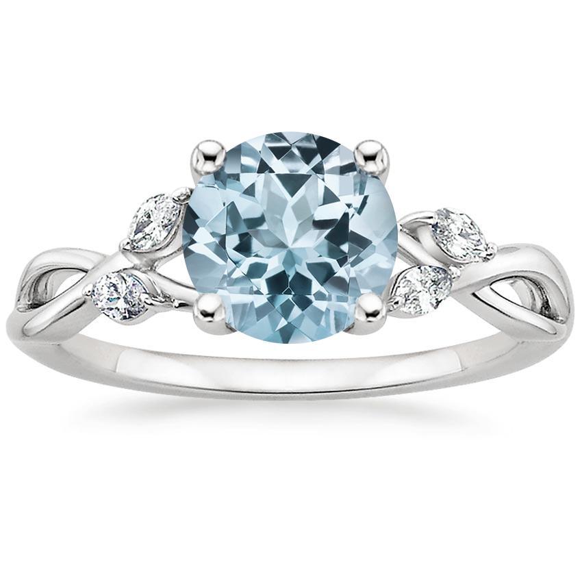 Aquamarine Engagement Rings Brilliant Earth