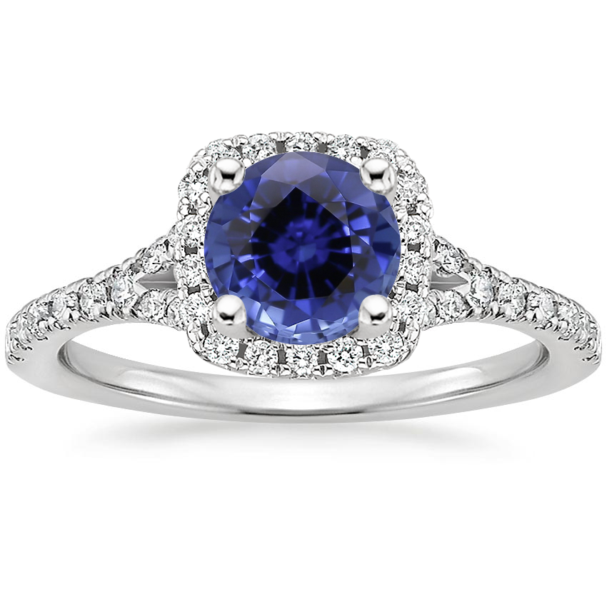 Sapphire Joy Diamond Ring (1/3 ct. tw.) in 18K White Gold