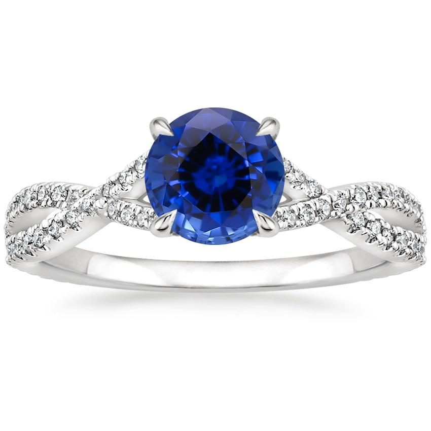 Sapphire Chloe Diamond Ring (1/4 ct. tw.) in 18K White Gold