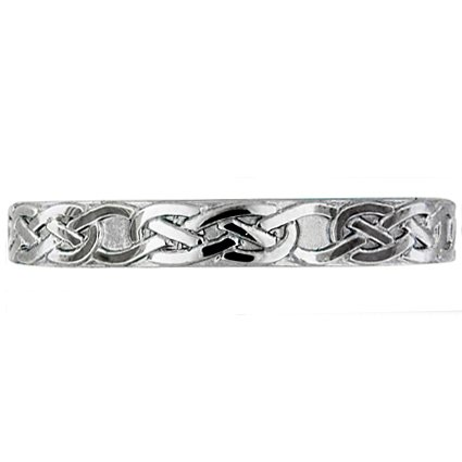 Celtic Knot Band, top view