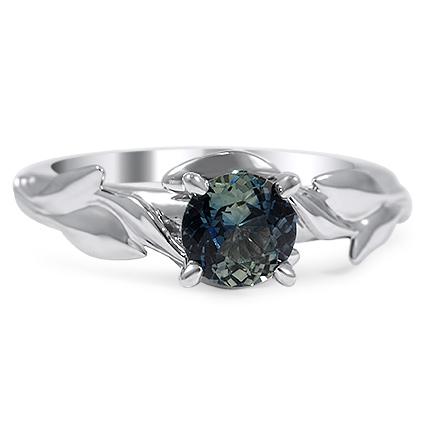 Custom Ring, Nature-Inspired Leaf Ring