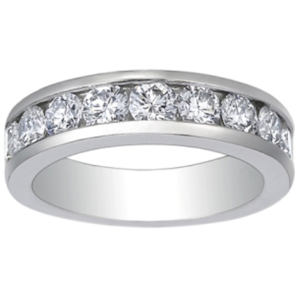 Custom Luxe Channel Set Round Diamond Ring (1 1/2 ct.tw.)