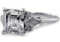 Lillian Antique Engagement Ring