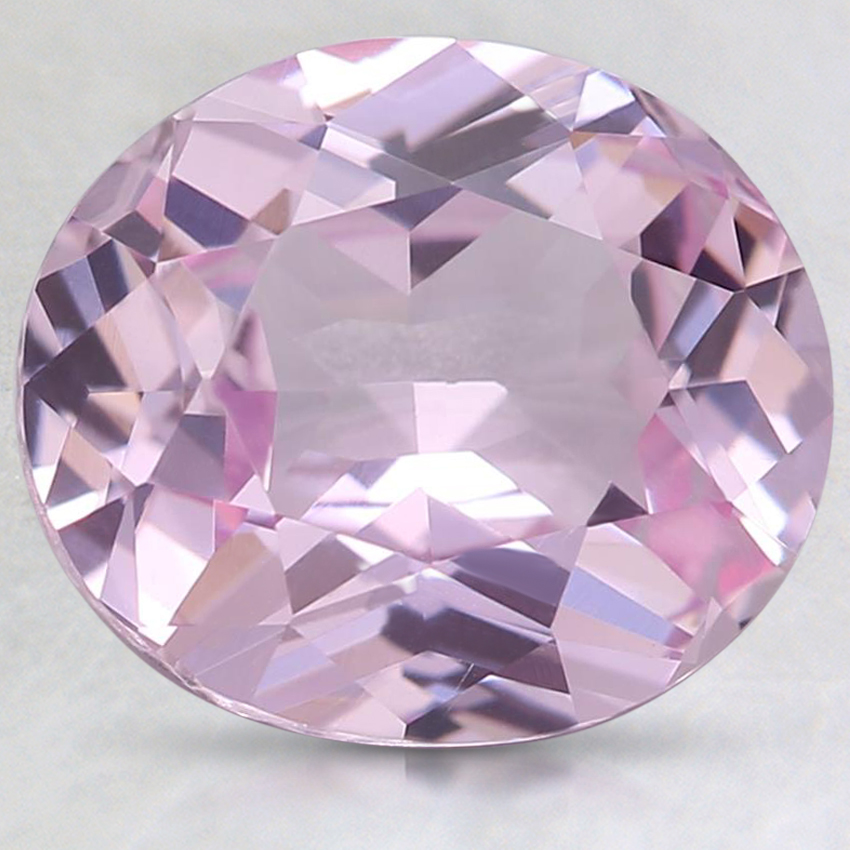 9.7x8.4mm Pink Oval Sapphire