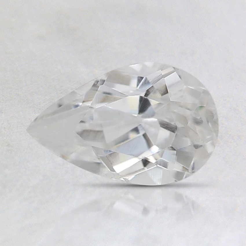 8x5mm White Pear Topaz