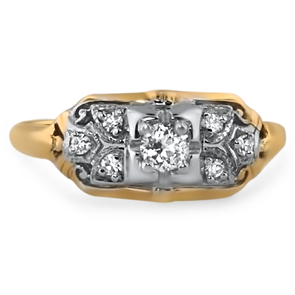 The Moravia Ring, top view
