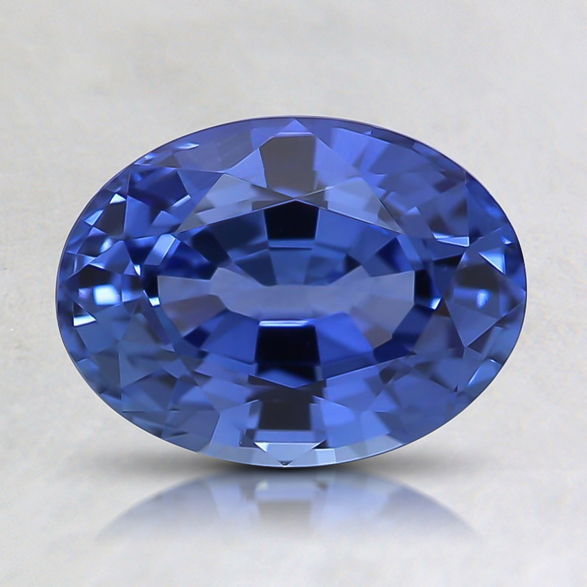 8.1x6.1mm Violet Oval Sapphire