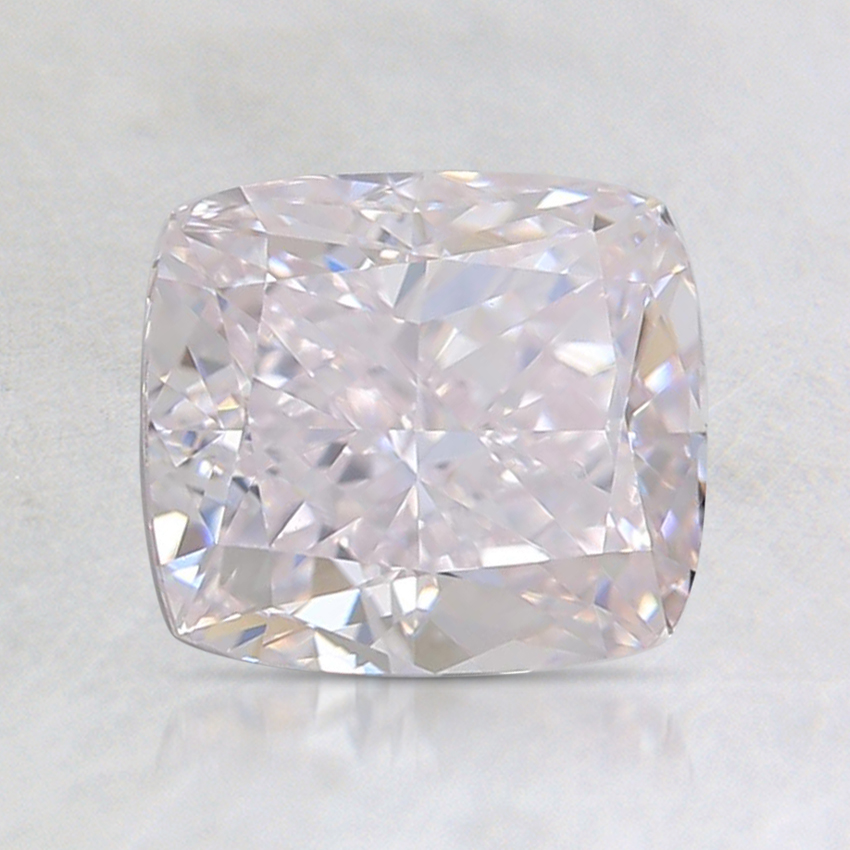 1.50 Ct. Light Pink Cushion Diamond
