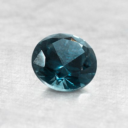 5.5mm Montana Teal Round Sapphire