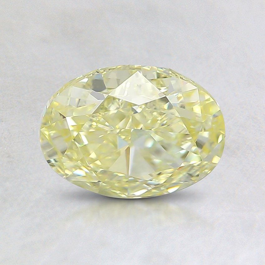 1.11 Ct. Fancy Yellow Oval Diamond