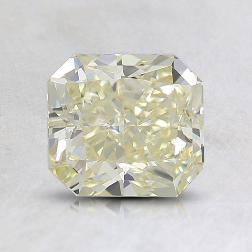 1.26 Ct. Fancy Light Yellow Radiant Diamond
