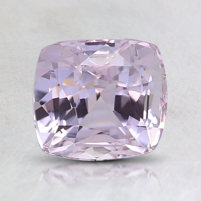 6.7x6.2mm Unheated Pink Cushion Sapphire