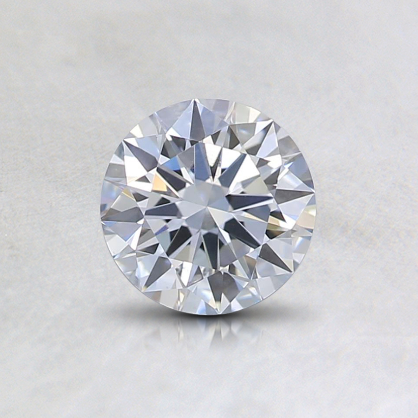 0.55 Ct. Fancy Light Blue Round Lab Created Diamond