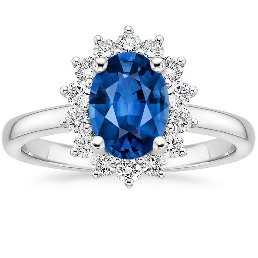 bsdz diamond gold blue wedding set b piece in rings ctw sapphire white ct bg carat