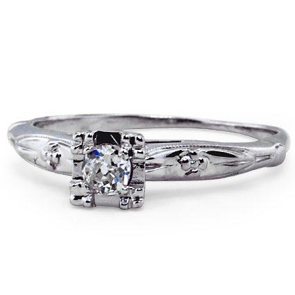 The Sweetheart Ring, top view