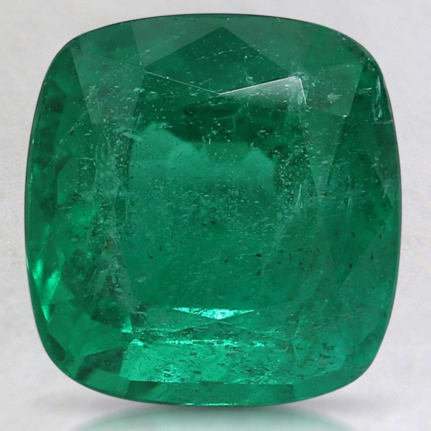 9.3x8.9mm Premium Cushion Emerald