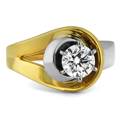 The Cleopatra Ring, top view