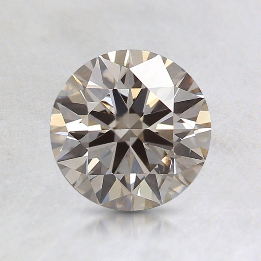 1.00 Ct. Fancy Light Gray Round Lab Created Diamond
