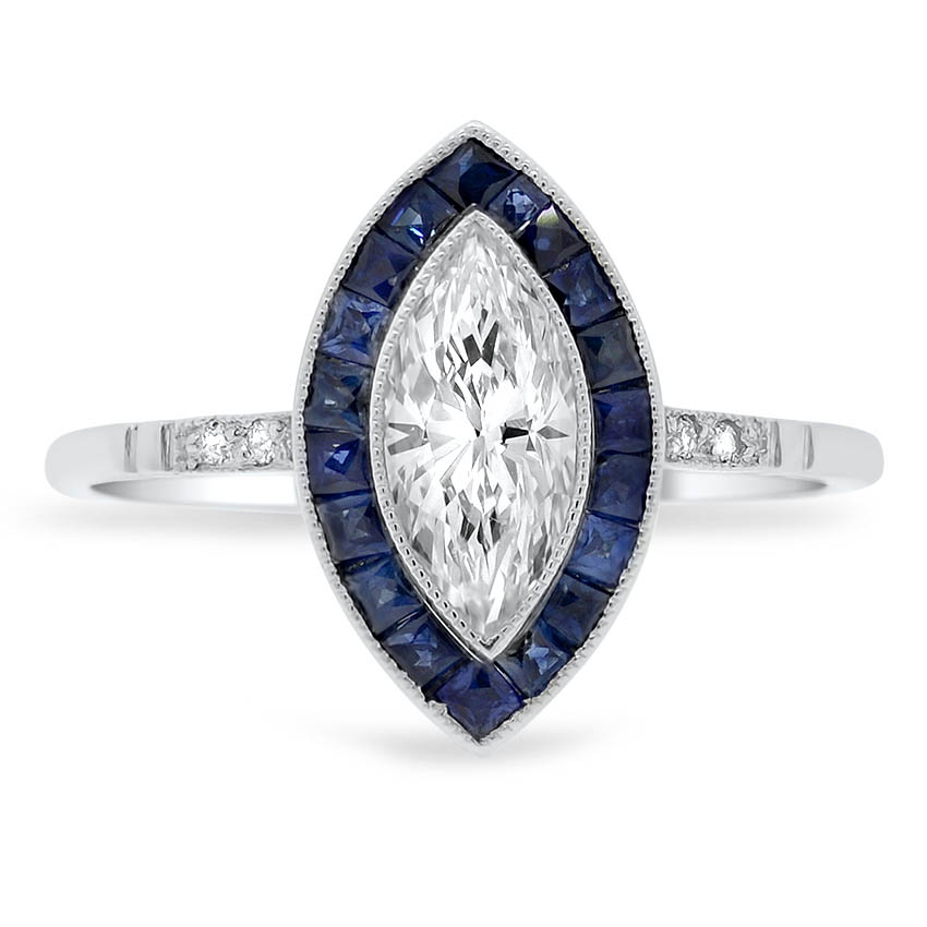 12e2f17b6 Art Deco Diamond Vintage Ring | Baylor | Brilliant Earth