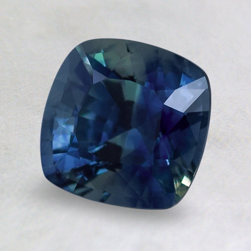 7mm Super Premium Blue Cushion Sapphire